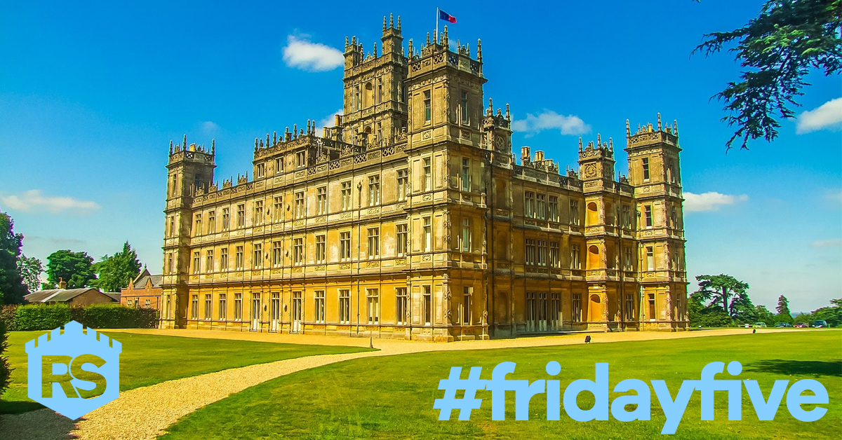 Highclere Castle - Friday Five - Home Quote Direct